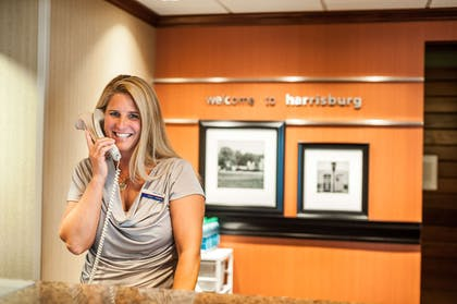 Reception | Hampton Inn Harrisburg-East (Hershey Area)
