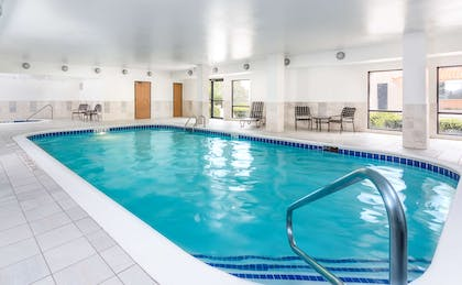 Pool | Hampton Inn Houston Stafford
