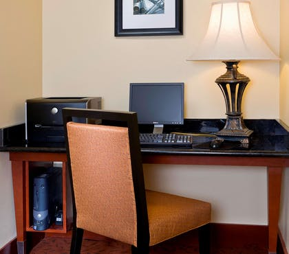 Business Center | Hampton Inn Houston Stafford