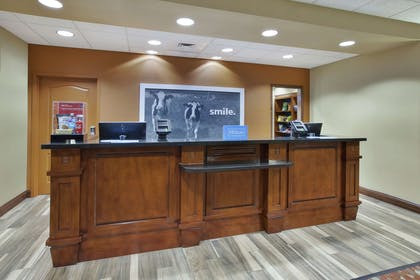Reception | Hampton Inn & Suites Wichita Northeast