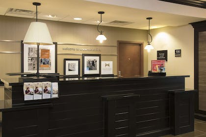 Reception | Hampton Inn & Suites Crawfordsville