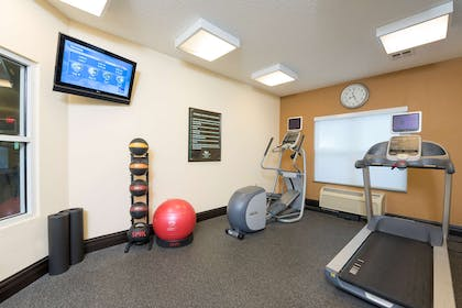Health club fitness center gym   Homewood Suites by Hilton Indianapolis-Airport/Plainfield