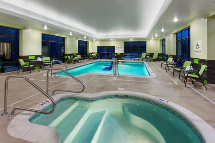 Pool | Hampton Inn & Suites Williamsport-Faxon Exit, PA