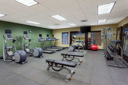Health club | Hampton Inn & Suites Williamsport-Faxon Exit, PA