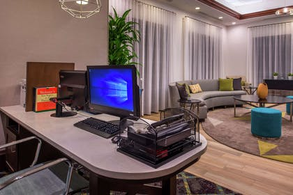 Lobby | Homewood Suites by Hilton Jacksonville Downtown-Southbank