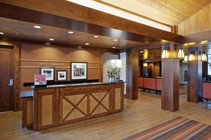 Reception | Hampton Inn & Suites Lake Placid