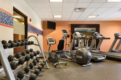 Health club fitness center gym   Hampton Inn and Suites Mission