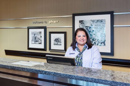 Reception | Hampton Inn & Suites Pharr