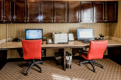 Business Center | Hampton Inn & Suites Montgomery-Downtown