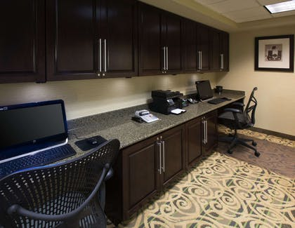 Business Center | Hampton Inn & Suites Mobile I-65@ Airport Blvd