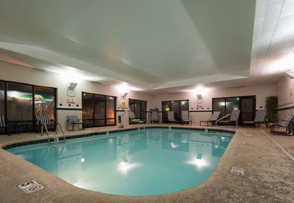 Pool | Hampton Inn Mount Airy