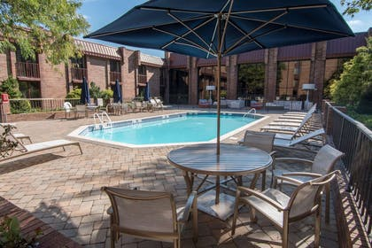 Pool | Hampton Inn Parsippany