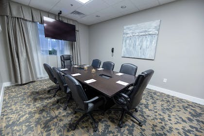 Meeting Room | Hampton Inn & Suites Raleigh/Cary I-40 (PNC Arena)