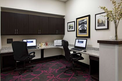 Business Center | Hampton Inn & Suites Raleigh Downtown