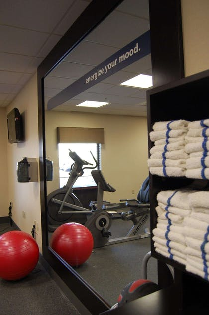 Health club | Hampton Inn Geneseo