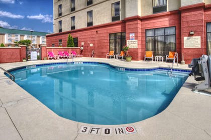 Pool | Hampton Inn Roanoke Rapids, NC