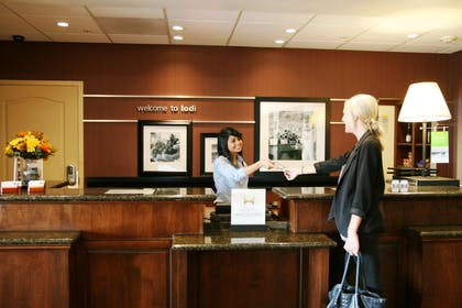 Reception | Hampton Inn & Suites Lodi