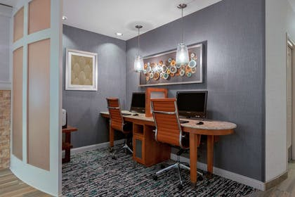 Business Center | Homewood Suites by Hilton Seattle Downtown