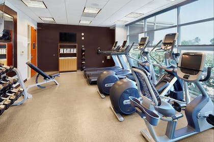 Health club | DoubleTree by Hilton Hotel San Francisco Airport North