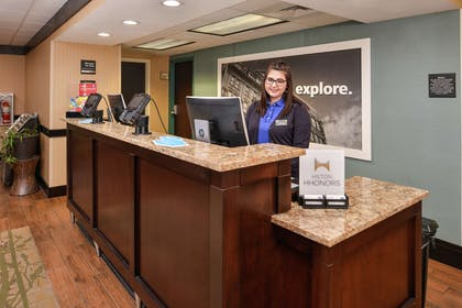 Reception | Hampton Inn Staunton