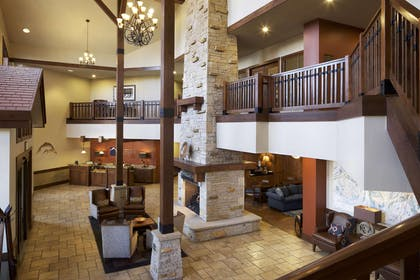 Reception   Sunrise Lodge by Hilton Grand Vacations