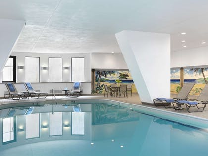 Pool | President Abraham Lincoln Springfield - a DoubleTree by Hilton Hotel