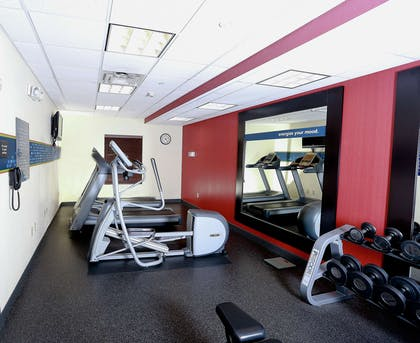 Health club | Hampton Inn & Suites Tampa-Wesley Chapel