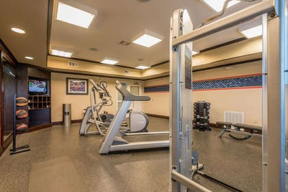Health club | Hampton Inn New Albany Mississippi