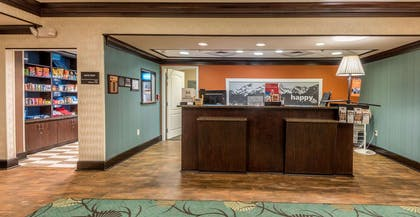 Reception | Hampton Inn New Albany Mississippi