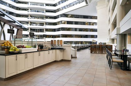 Breakfast Area | Embassy Suites by Hilton Washington D.C. at the Chevy Chase Pavilion