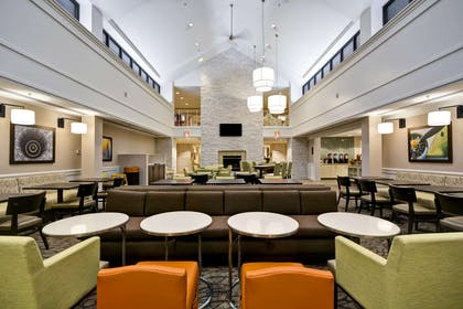 Lobby | Homewood Suites by Hilton Dulles Int'l Airport