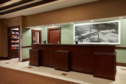 Reception | Hampton Inn & Suites Washington-Dulles Int'l Airport