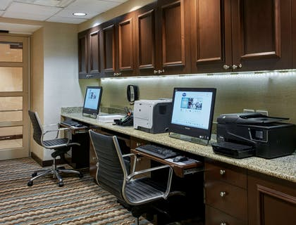 Business Center | Homewood Suites by Hilton Silver Spring