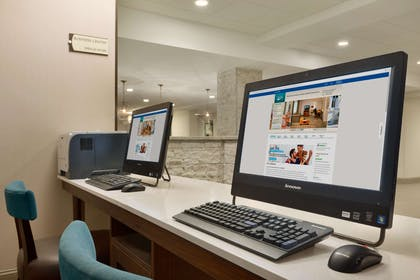 Business Center | Homewood Suites by Hilton Hartford Downtown