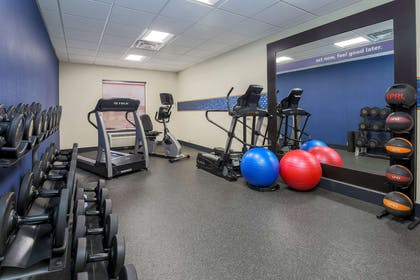 Health club fitness center gym | Hampton Inn & Suites New Haven - South - West Haven