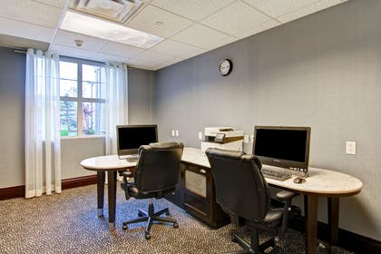 Business Center | Homewood Suites by Hilton Toronto-Mississauga