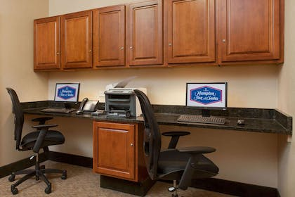 Business Center | Hampton Inn & Suites Addison