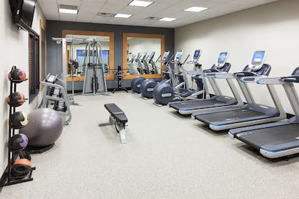 Health club fitness center gym | Embassy Suites by Hilton Anchorage