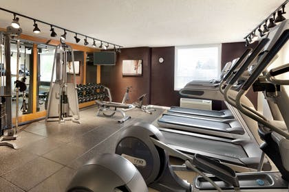 Health club fitness center gym | DoubleTree by Hilton Hotel Annapolis
