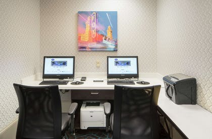 Business Center | Hampton Inn & Suites Atlanta Downtown