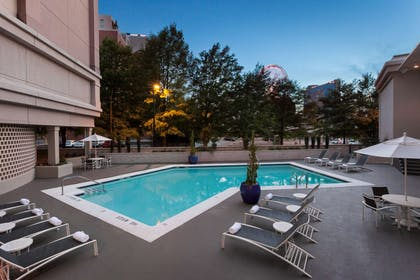Pool | The American Hotel Atlanta Downtown - a DoubleTree by Hilton