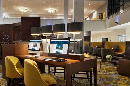 Business Center | Hilton Stamford Hotel & Executive Meeting Center