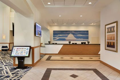 Reception | Embassy Suites by Hilton Boston At Logan Airport