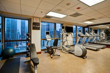 Health club | Homewood Suites by Hilton Chicago-Downtown