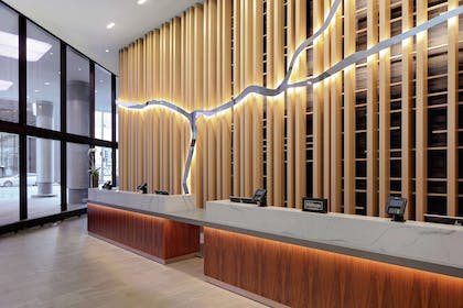 Reception | DoubleTree by Hilton Hotel Chicago - Magnificent Mile