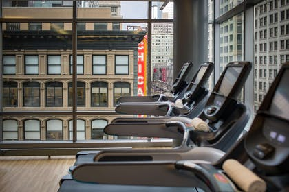 Health club | theWit Chicago – a DoubleTree by Hilton Hotel