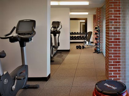 Health club fitness center gym   DoubleTree by Hilton Hotel & Suites Charleston Airport