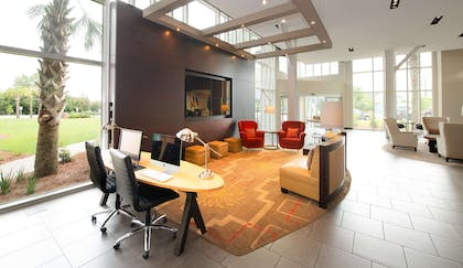 Business Center   DoubleTree by Hilton Hotel & Suites Charleston Airport