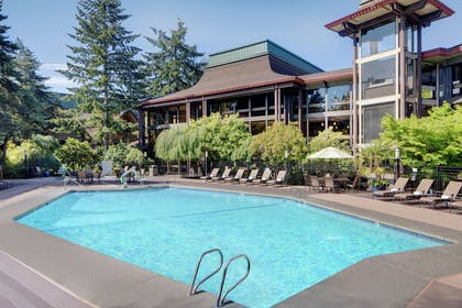 Pool |  DoubleTree by Hilton Seattle Airport
