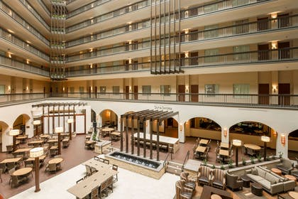 Lobby | Embassy Suites by Hilton Dallas Love Field